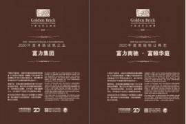 """卓越实力造就行业典范 富力地产荣膺""""中国地产金砖奖"""""""
